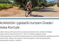 Online anketa TZG Korčule – Biciklistički i pješački turizam Grada i otoka Korčule
