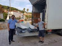 Nove klupe u gradu Korčuli!