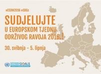 Prijave za Europski tjedan održivog razvoja 2016.