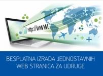 Besplatna izrada Web stranice udrugama
