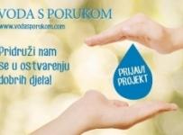 JANA VODA S PORUKOM - NOVI NATJEČAJ
