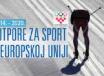 """Info dan """"Mogućnosti financiranja sporta iz EU programa"""""""
