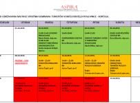 Raspored održavanja nastave stručnih seminara turistički vodiči/voditelji poslovnice - Korčula