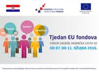 """Informativno-edukativni događaj - """"Tjedan EU fondova"""""""