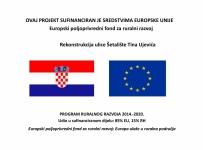 Potpisan ugovor za rekonstrukciju Šetališta Tina Ujevića!