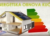 Obavijest o natječaju energetske obnove obiteljskih kuća